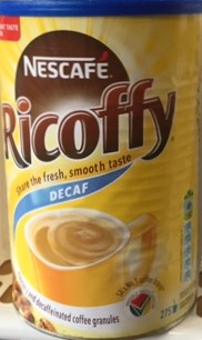 Ricoffy Decaf 750g